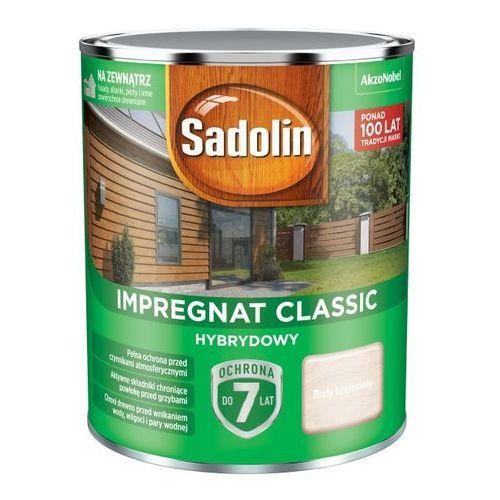 Impregnat do drewna hybrydowy biały kremowy 0,75 l marki Sadolin