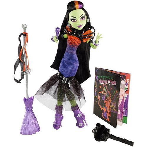 Mattel Monster high casta fierce witch cfv34 lalka + gratis 2 maskotki i breloczek