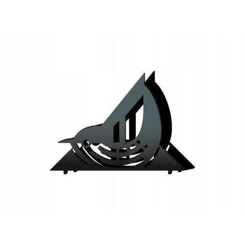 Serwetnik metalowy ptak r09/14cm