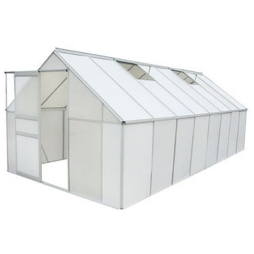 vidaXL Szklarnia ogrodowa 12.25 m²
