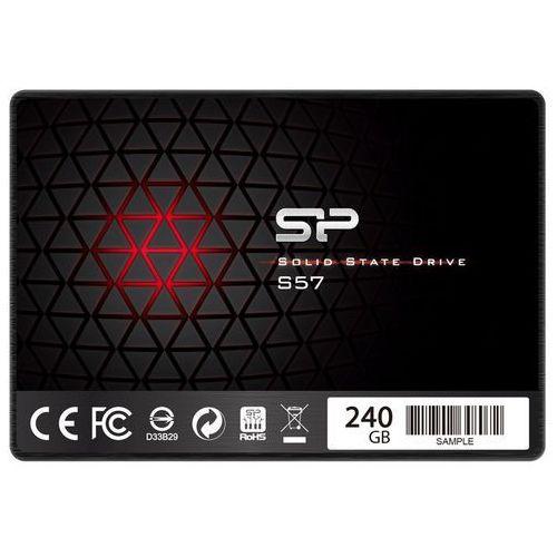 Dysk SSD Silicon Power S57 240GB SATA3 (SP240GBSS3S57A25) Darmowy odbiór w 20 miastach! (4712702653557)