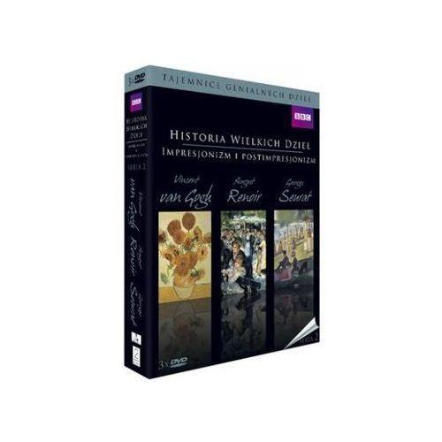 Historia wielkich dzieł box 3dvd seria 2 - impresjonizm i postimpresjonizm