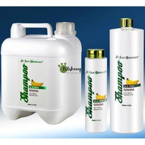 Iv san bernard szampon bananowy sls free 5l - darmowa dostawa od 95 zł! (8022767031723)