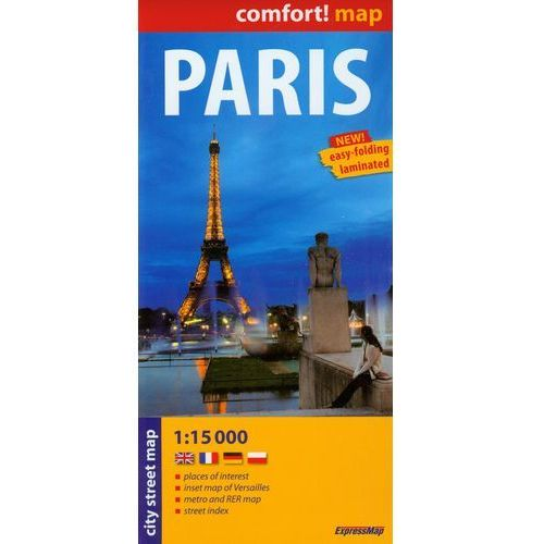 PARIS COMFORT MAP 1 : 15 000, oprawa miękka