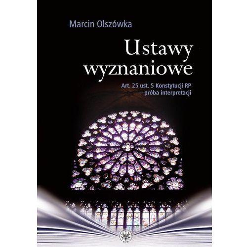Ustawy wyznaniowe - Marcin Olszówka (2014)