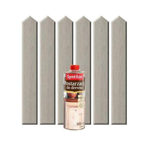 Postarzacz do drewna 0.5 l platynowy marki Syntilor