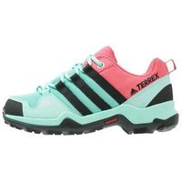 adidas Performance TERREX AX2R Półbuty trekkingowe easy green/core black/tactile pink, kolor zielony