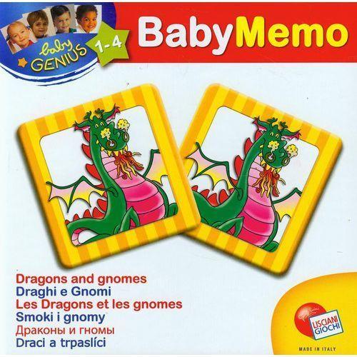 Liscianigiochi Baby memo smoki i gnomy - lisciani giochi (8008324041961)