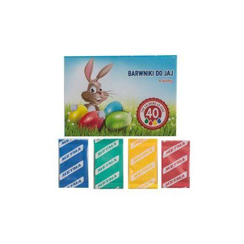 Farbki do jaj w saszetkach 4 kolory marki Hanmar