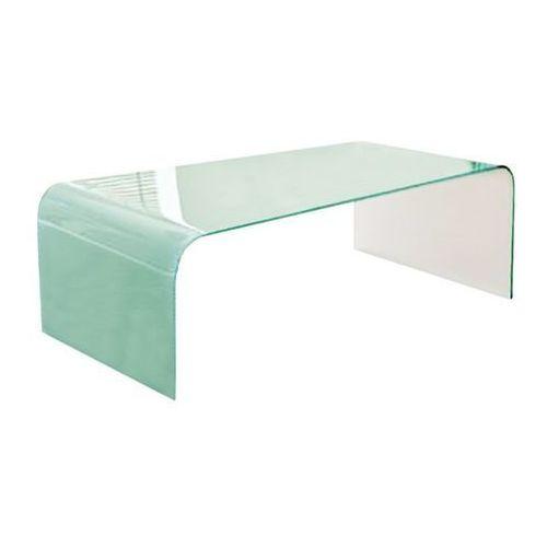 Stolik szklany FORMANOVA - biały