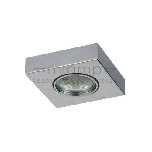 Orlicki design Oczko lampa sufitowa arni metalowa oprawa wpust kwadratowy chrom