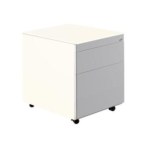 Kontener szufladowy na rolkach, wys. x głęb. 570x600 mm, 1 szuflada na dokumenty