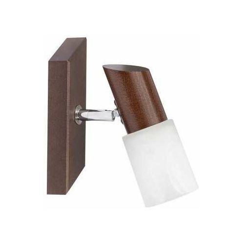 Spot Light Birgit 2222176 kinkiet lampa ścienna 1x40W E14 brązowy (5907500157669)