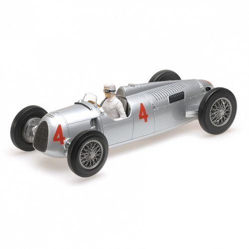 Auto union typ c #4 achille varzi 2nd place grand prix automobile de monaco 1936 marki Minichamps