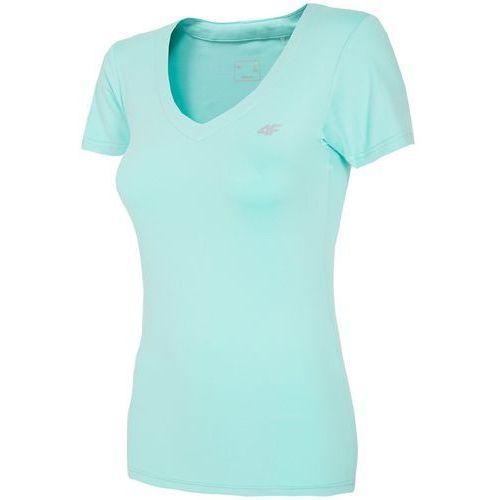 Damska koszulka fitness l18 tsdf003 miętowy xl marki 4f