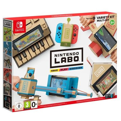 Zestaw labo variety kit + darmowy transport! marki Nintendo