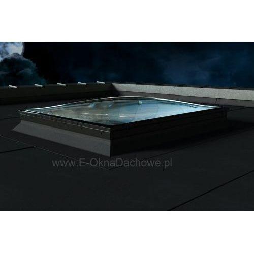 Okno do płaskiego dachu OKPOL PGX B6 Spherline 100x100, PGX B6 Spherline 100x100