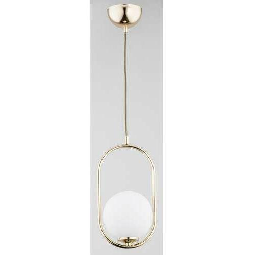 Alfa Noval 6069810 lampa wisząca zwis 1x40W E14 złoty, kolor Złoty