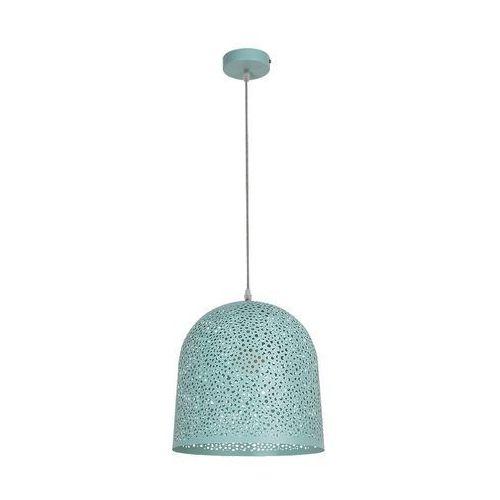 LAMPA wisząca GERDA 5911 Rabalux ażurowa OPRAWA metalowy ZWIS kopuła miętowa (5998250359113)