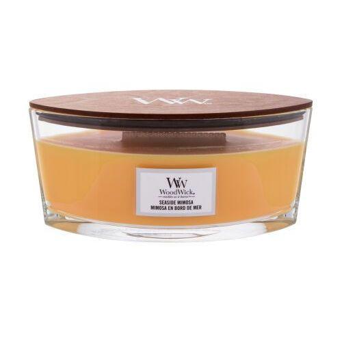 WoodWick - Seaside Mimosa - świeca zapachowa - szampan z cytrusami (czas palenia: do 60 godzin)