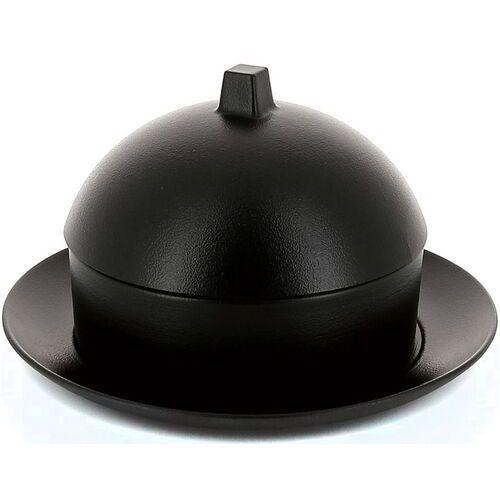 Naczynie porcelanowe do dim sum z pokrywką equinoxe revol czarne żeliwo (rv-649522-1)