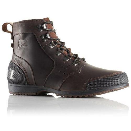Sorel męskie obuwie zimowe Ankeny MID Hiker Tobacco Black 44.5