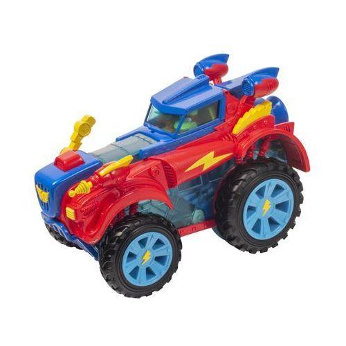 Superzings pojazd bohaterów monster roller i 2 figurki marki Magic box