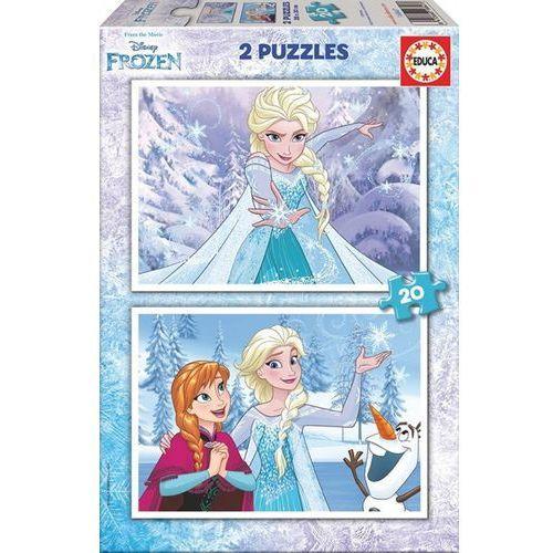 Puzzle 2x20 ELEMENTÓW Frozen (8412668168473)