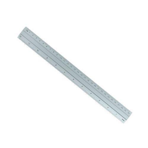 Linijka aluminiowa amex 30cm dwustronna x1 marki Dystrybucja melior