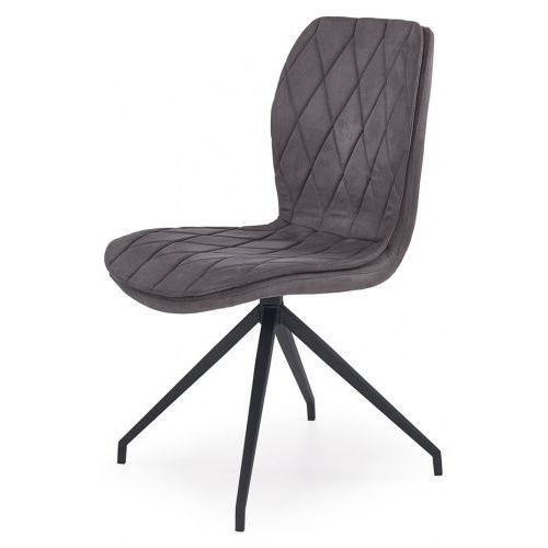 Krzesło w industrialnym stylu Gimer - popielate, kolor Krzesło