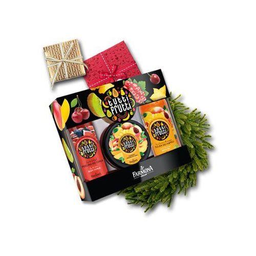Farmona Zestaw prezentowy Tutti Frutti Mango&Brzoskwinia /olejek+mus+peeling/ (5900117000366)