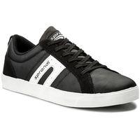 Sneakersy - mp40-7469y czarny marki Sprandi