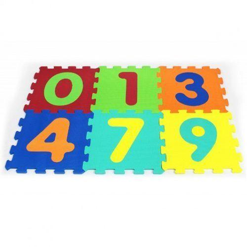 6 el. puzzle piankowe cyferki marki Artyk