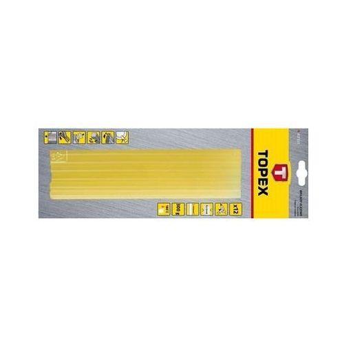 Wkłady klejowe Topex 11 mm żółte 12 szt.