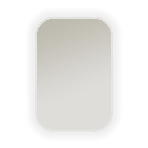 Dubiel vitrum Lustro łazienkowe z oświetleniem wbudowanym senso 60 x 80