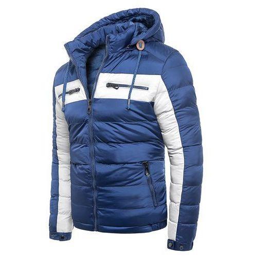 14b80e80c072e Męska kurtka zimowa 50A106 - indigo