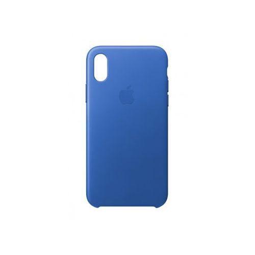 APPLE iPhone X Leather Case - Electric Blue MRGG2ZM/A >> BOGATA OFERTA - SUPER PROMOCJE - DARMOWY TRANSPORT OD 99 ZŁ SPRAWDŹ!