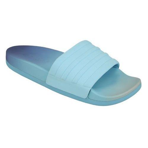 Adidas Klapki  adilette cf+ s82235 - błękitny ||niebieski