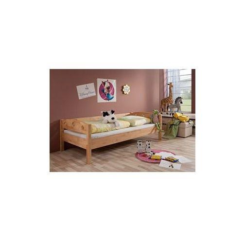 łóżko Młodzieżowe Z Barierką I Materacem 200x90 Morizon