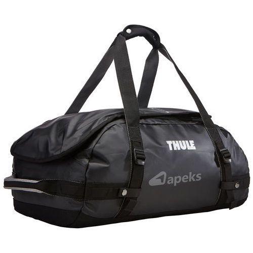 chasm 40l torba podróżna / plecak sport duffel / black - black marki Thule