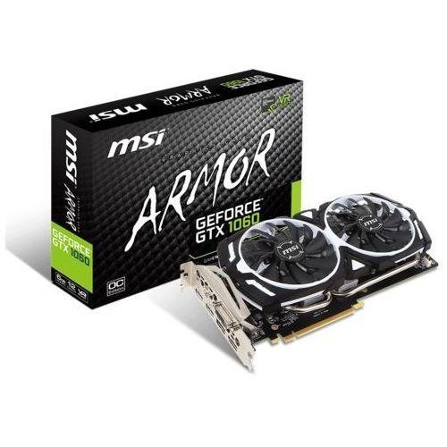 MSI GeForce GTX 1060 ARMOR OC V1 6GB GDDR5, GTX 1060 ARMOR 6G OCV1