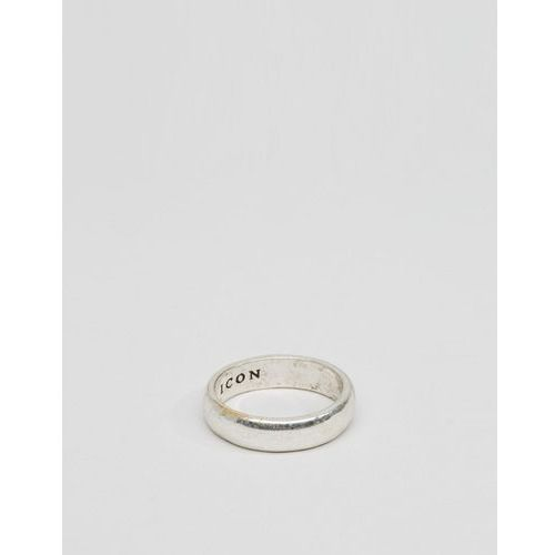 band ring in silver - silver marki Icon brand