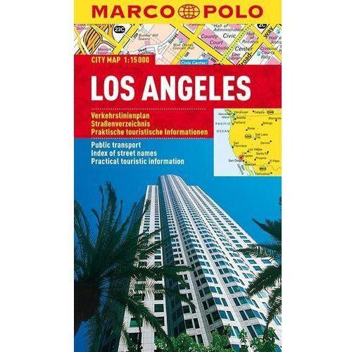 Los Angeles 1:15 000. Laminowany plan miasta. Marco Polo, MARCO POLO