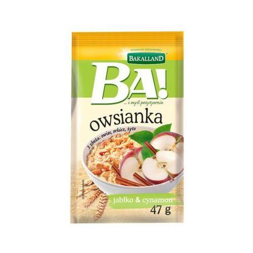 47g ba! owsianka jabłko i cynamon marki Bakalland