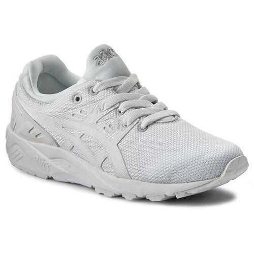 Sneakersy - tiger gel-kayano trainer evo h707n white/white 0101 marki Asics