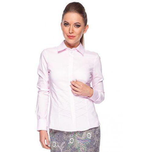 Klasyczna koszula z przeszyciem - marki Duet woman
