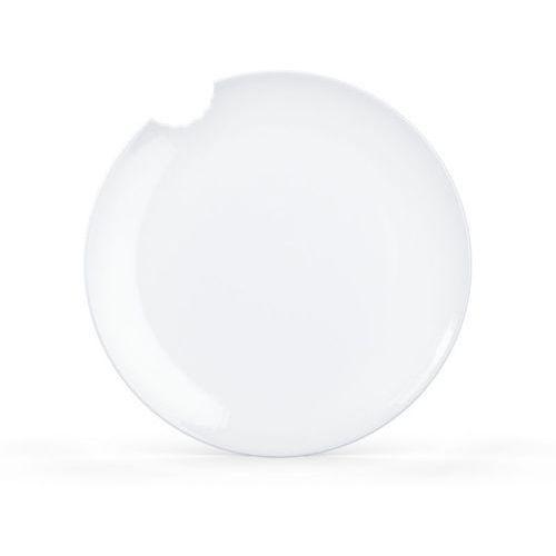 58Products - Talerz Ø 28 cm - biały błyszczący - 2 szt - 28,00 cm