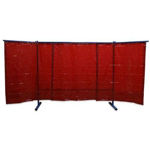 Unbekannt Spawalnicza ścianka ochronna, ruchoma,wersja 3-częściowa, wys. x szer. 1930 x 3800 mm