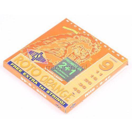 Rotosound RH 9 Roto Orange struny do gitary elektrycznej 9-46