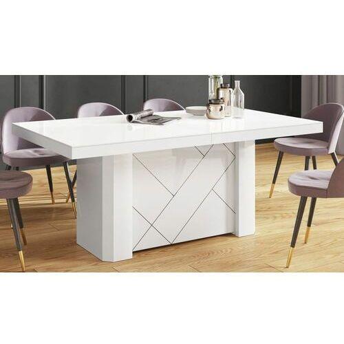Stół KOLOS MAX 180-468 Biały połysk, HS-0249